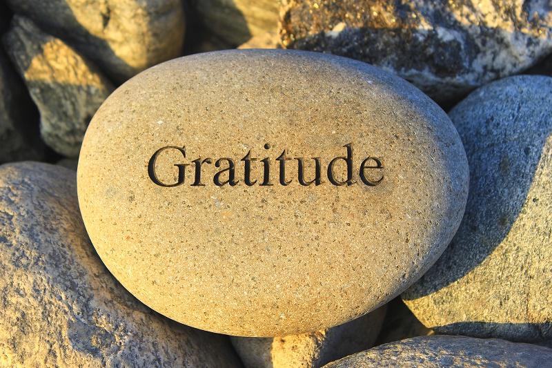 WORD OF ENCOURAGEMENT ON GRATITUDE